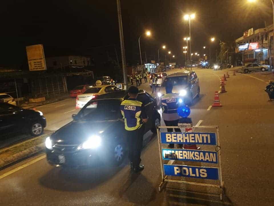 polis bekerja 24 jam