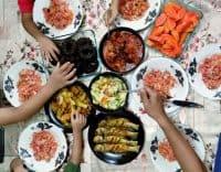 resepi nasi hujan panas dan masak merah ayam