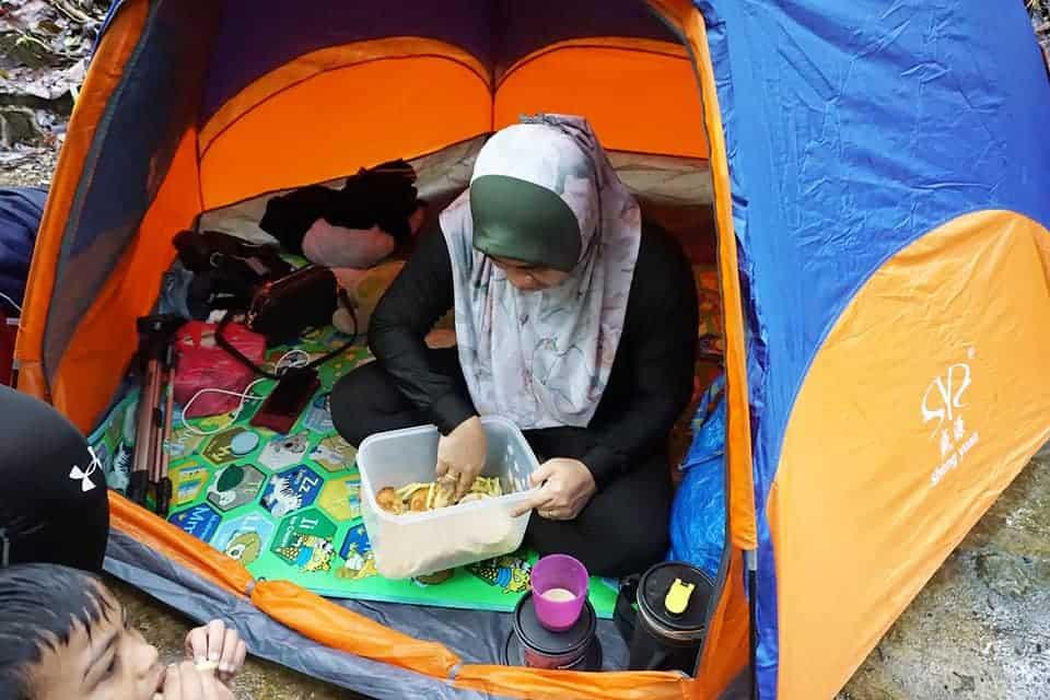 picnic di sg congkak