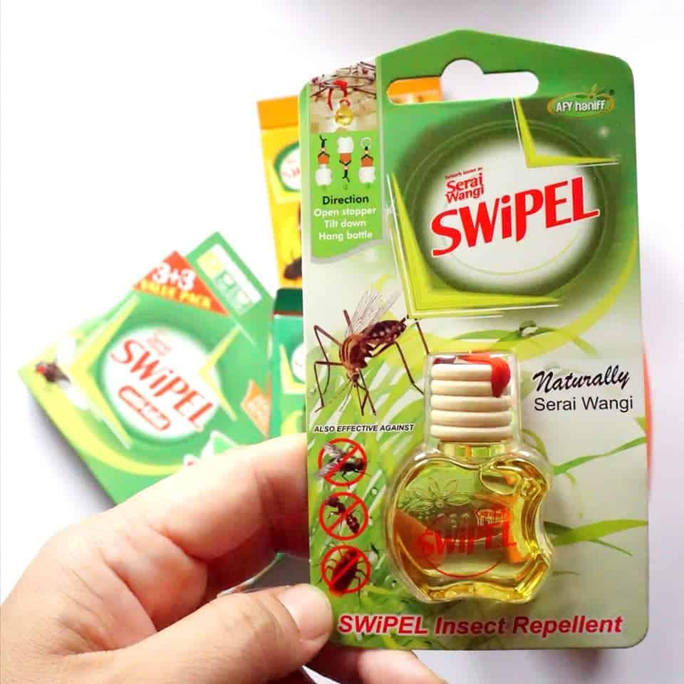 SWiPEL untuk membersih dan menghalau serangga