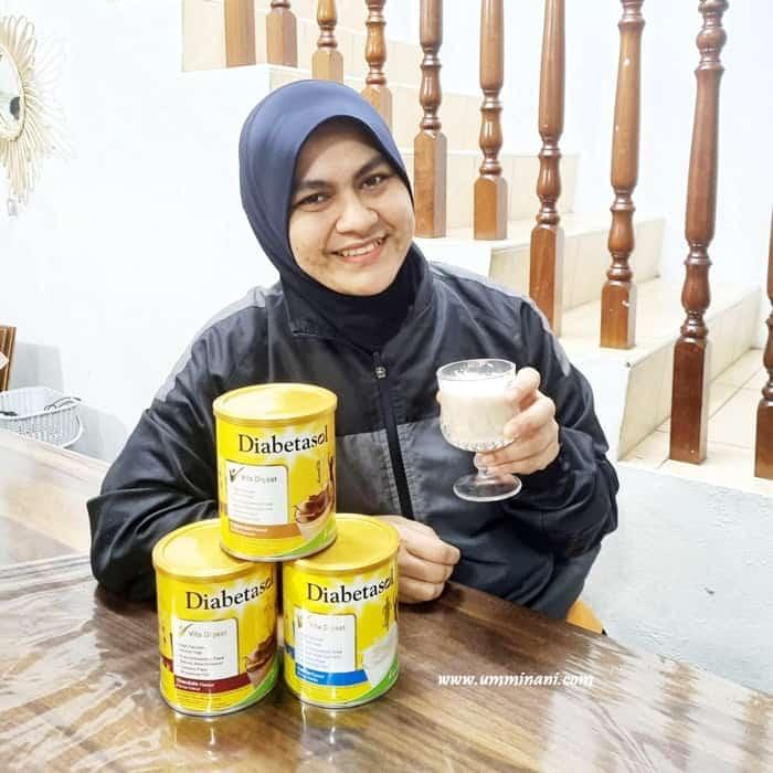 Susu untuk diabetes kolestrol -diabetasol