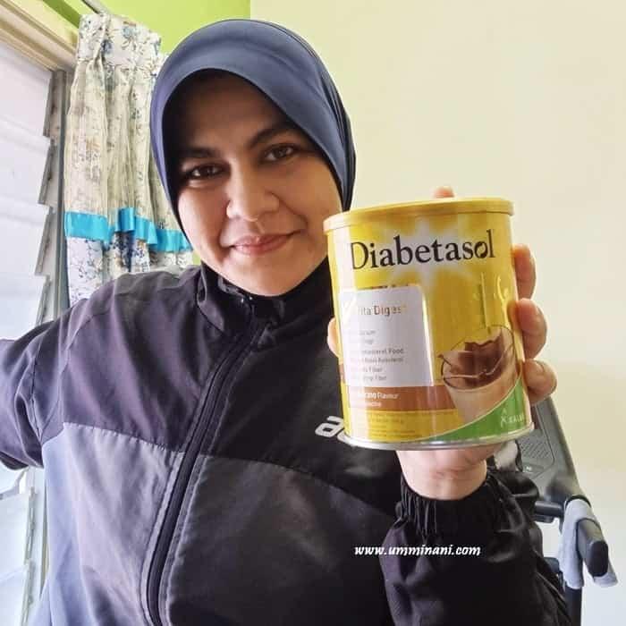 Susu untuk diabetes kolestrol DIABETASOL